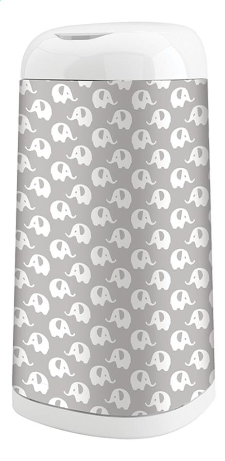 Afbeelding van Angelcare Hoes voor luieremmer Dress up elephant grijs/wit from Dreambaby