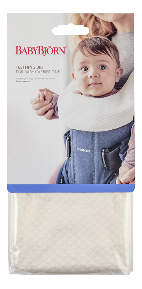 BabyBjörn Bavette pour porte-bébé One blanc