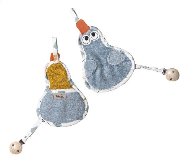 Image pour Timboo Chiffon pour sucette canard sea blue à partir de Dreambaby