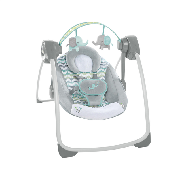 Afbeelding van Ingenuity Babyswing Comfort 2 Go Portable Swing Jungle Journey from Dreambaby