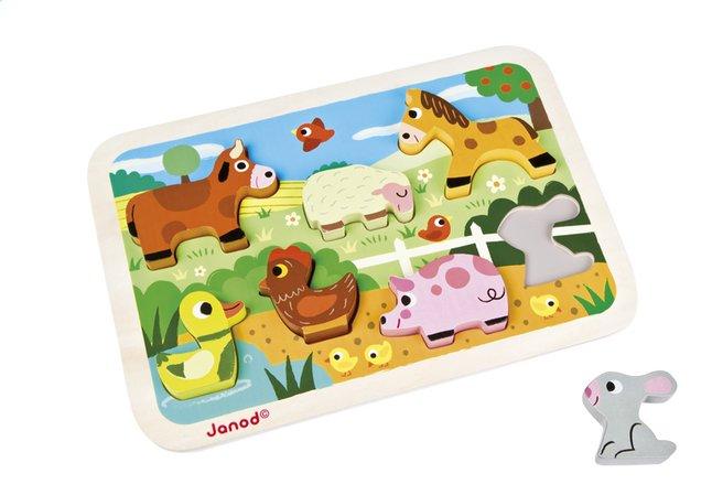 Image pour Janod Puzzle Chunky Puzzle Ferme à partir de Dreambaby