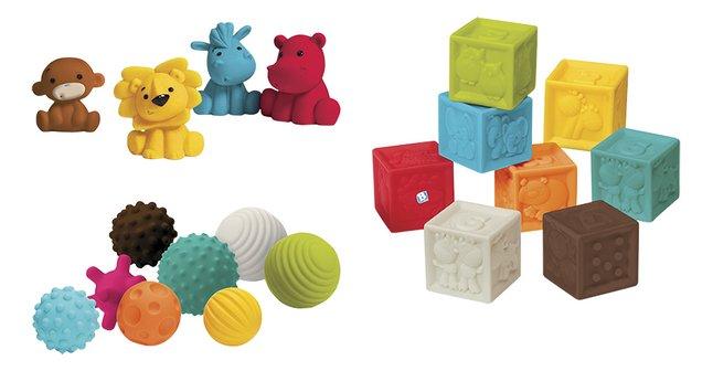 Image pour Infantino Set de jeu Sensory Balls, Blocks & Buddies - 20 pièces à partir de Dreambaby
