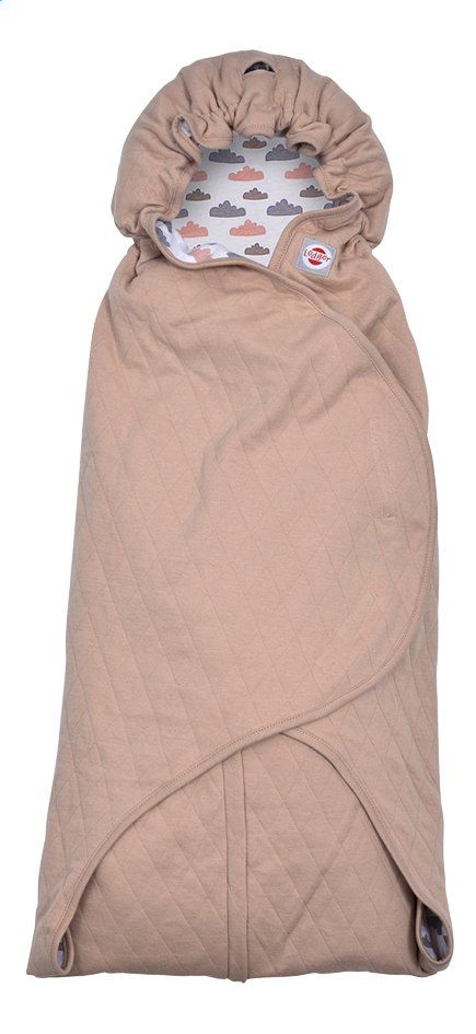 Afbeelding van Lodger Wikkelcape Wrapper Clever quilt nude pink from Dreambaby