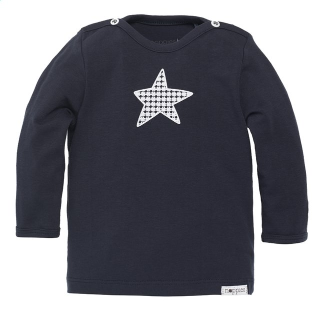 Afbeelding van Noppies T-shirt met lange mouwen Monsieur navy from Dreambaby