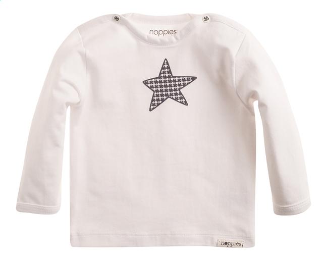 Afbeelding van Noppies T-shirt met lange mouwen Melanie white maat 50 from Dreambaby