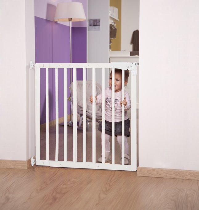 Afbeelding van Childwood by Childhome Traphekje Maximo wit from Dreambaby