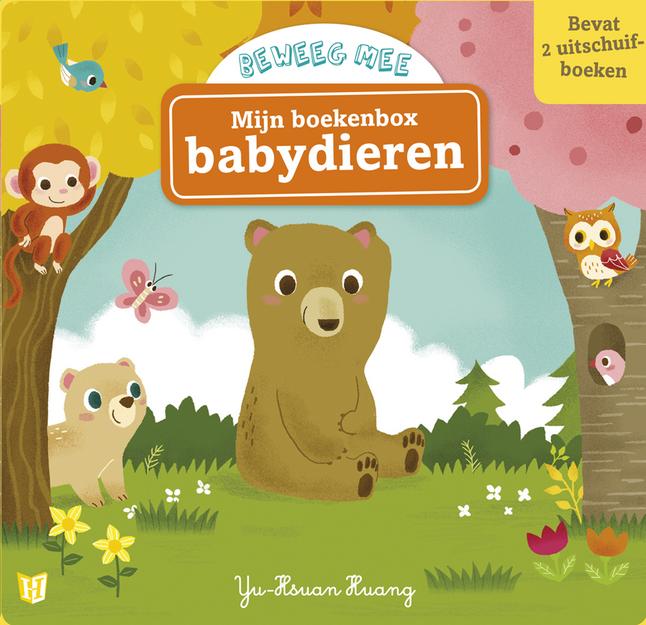 Afbeelding van Box Mijn boekenbox babydieren from Dreambaby