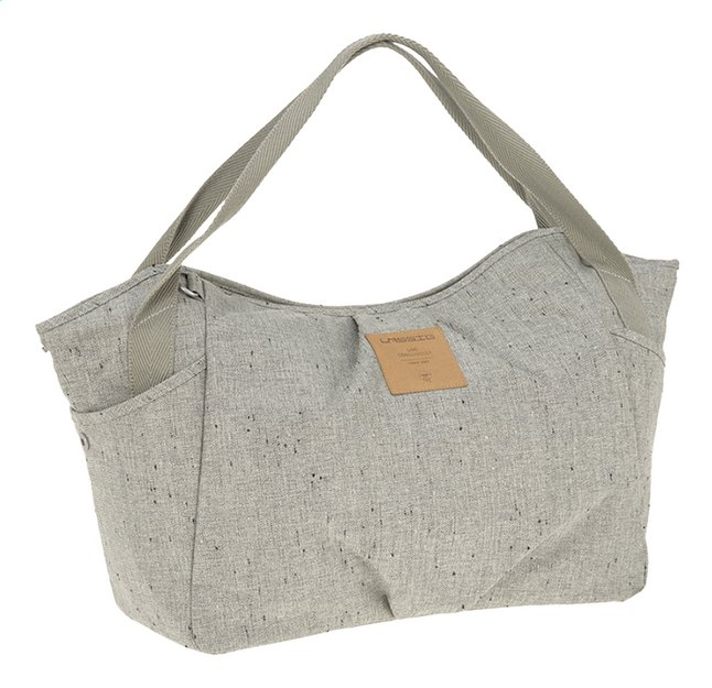 Lässig Verzorgingstas Green Label twin bag bouclé beige