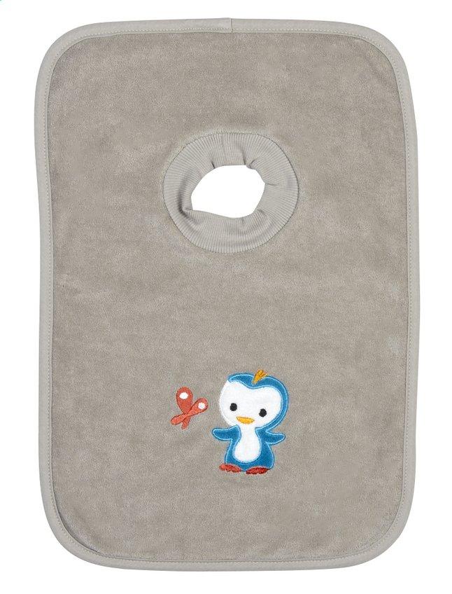 Afbeelding van Dreambee Slabbetje Niyu met pull-overkraag grijs from Dreambaby