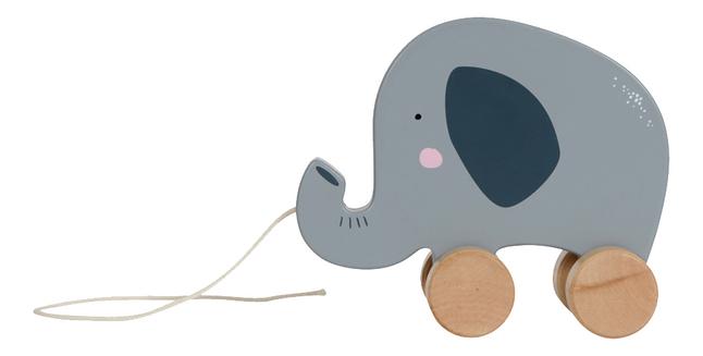 Little Dutch Trekspeeltje olifant