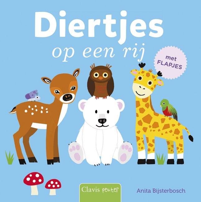 Afbeelding van Babyboek Diertjes op een rij from Dreambaby