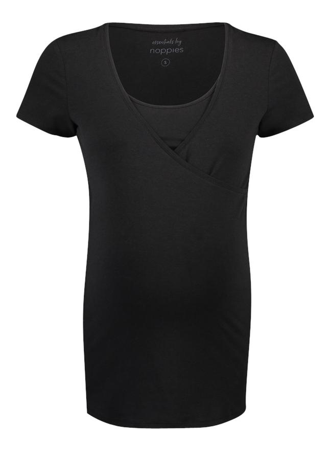Noppies Mum T-Shirt d'allaitement Rome Black
