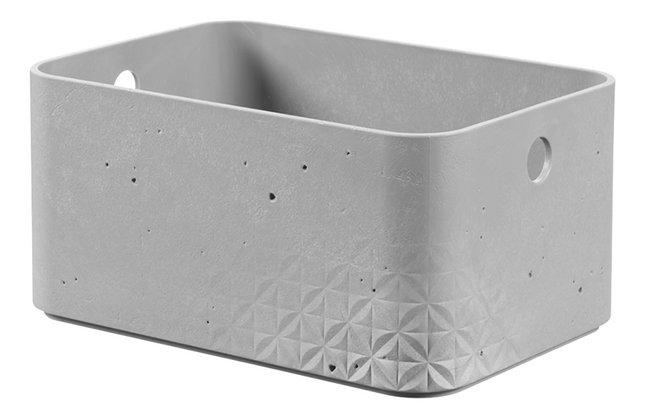 magasin en ligne 619e8 15743 Curver Boîte de rangement Beton gris clair