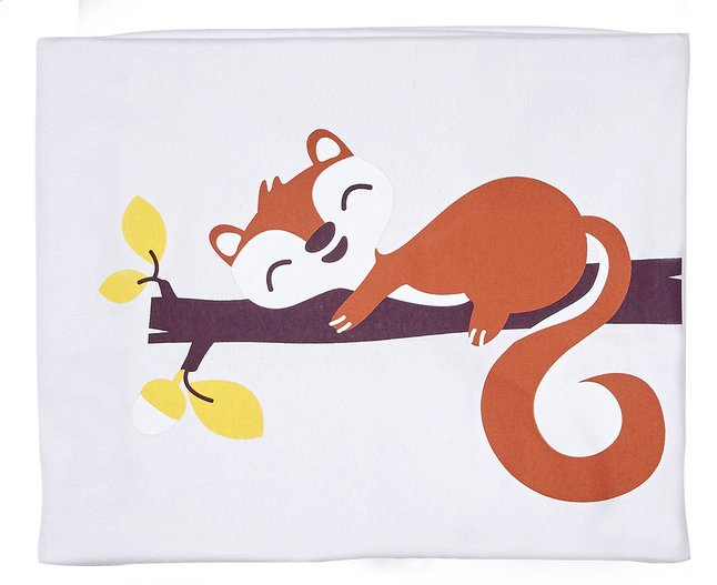Image pour Dreambee Couverture pour berceau ou parc Ayko gris clair coton/polyester à partir de Dreambaby