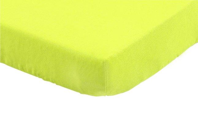 Afbeelding van Dreambee Hoeslaken Essentials lime katoen from Dreambaby