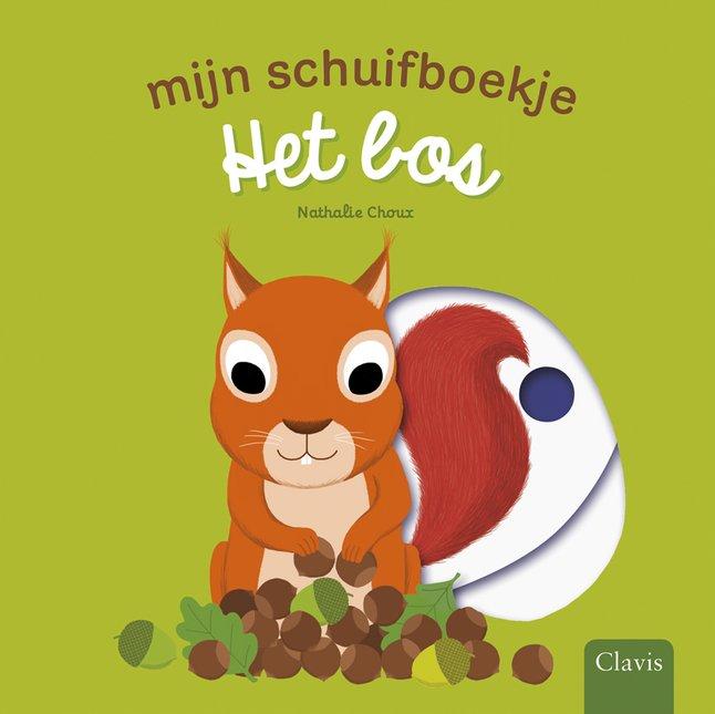 Afbeelding van Babyboek Mijn schuifboekje Het bos from Dreambaby
