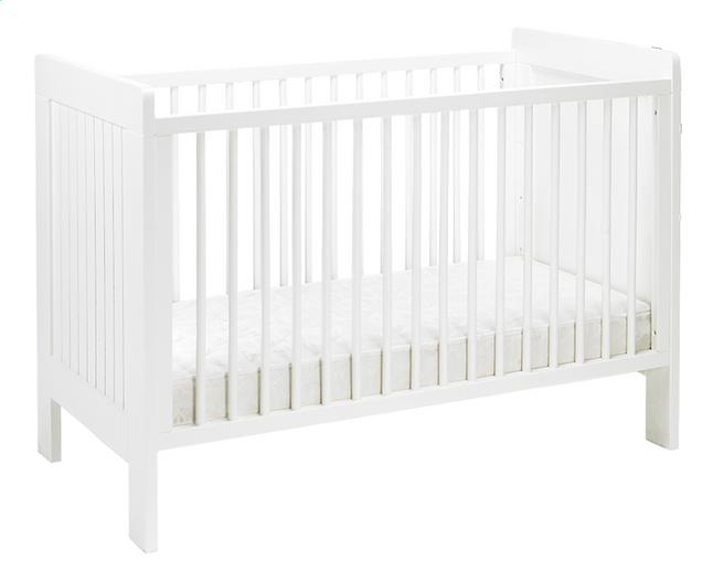Image pour Quax Lit de bébé Camille L 120 x Lg 60 cm à partir de Dreambaby
