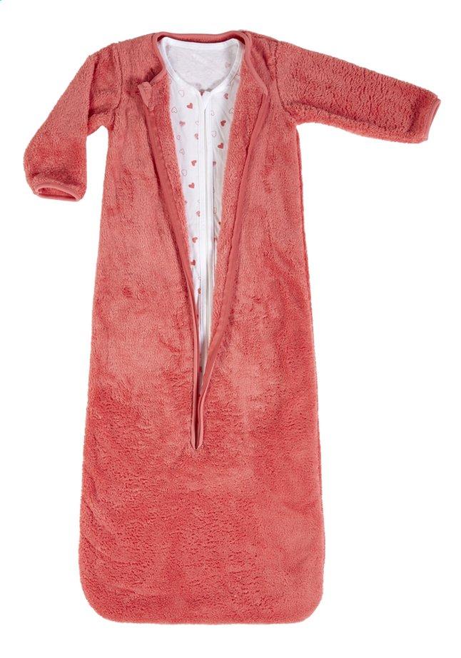 Afbeelding van Dreambee Slaapzak 4 seizoenen Essentials hartje katoen/polyester roze 100 cm from Dreambaby