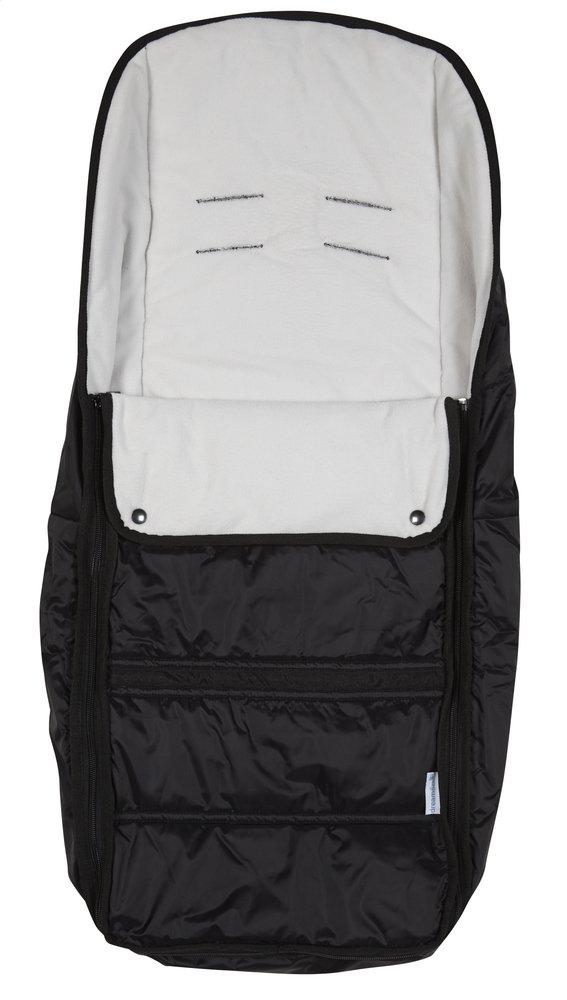 Afbeelding van Dreambee Voetenzak voor wandelwagen Essentials zwart/grijs from Dreambaby