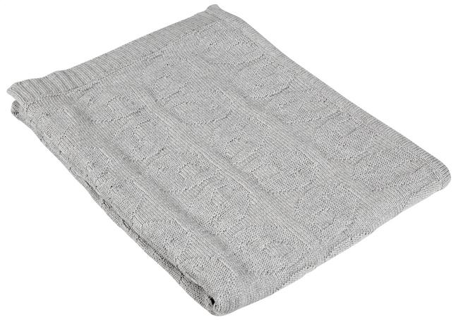 Afbeelding van Tis Lifestyle Deken voor bed Forest grijs B 100 x L 130 cm from Dreambaby