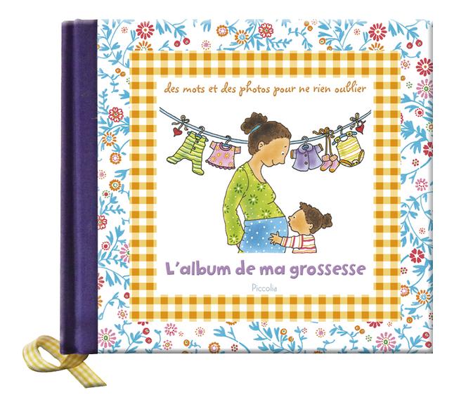 Afbeelding van Zwangerschapsboek L'album de ma grossesse - Pauline Oud FR from Dreambaby