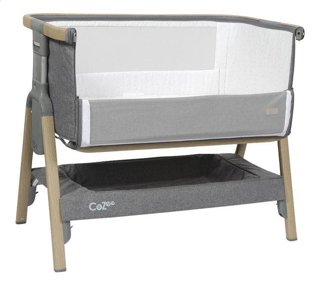 Afbeelding van Tutti Bambini Co-sleeper CoZee oak/charcoal from Dreambaby