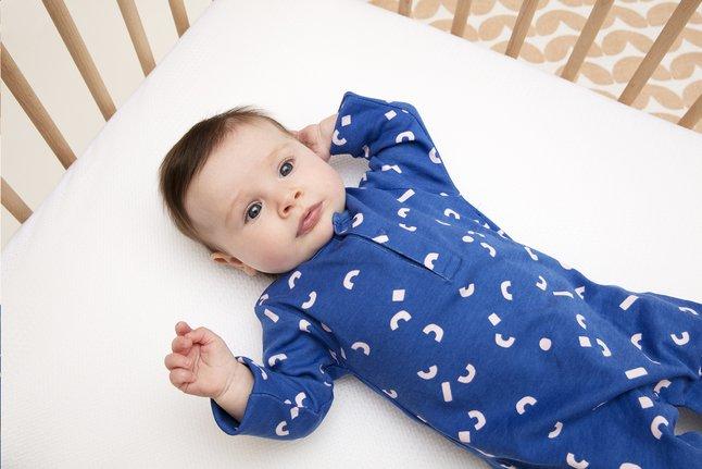 AeroSleep Matras voor babybed Evolution + 2 hoeslakens B 60 x L 120 cm