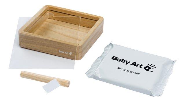 Baby Art Gipsafdruk Magic Box wooden natural