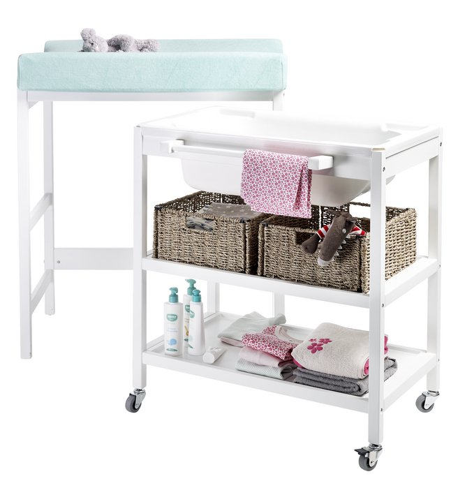 Quax table langer compact smart blanc dreambaby - Table a langer compact ...