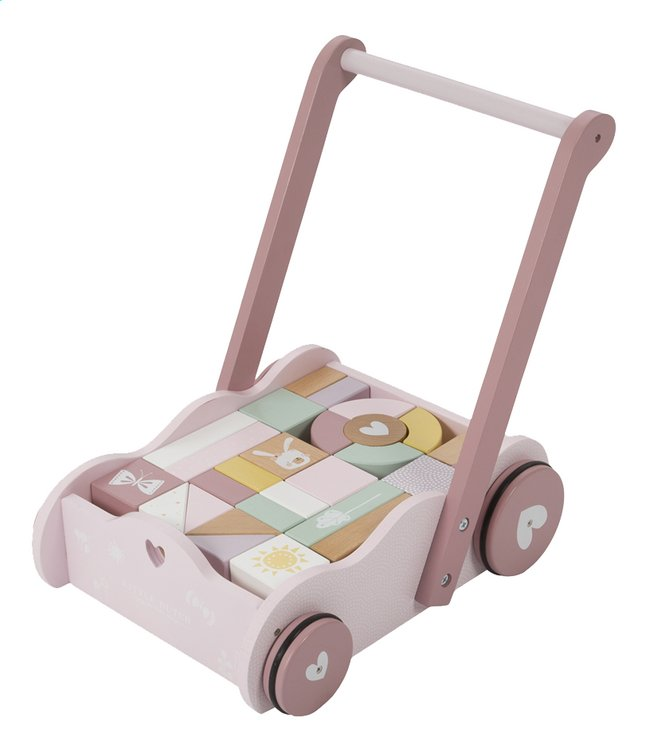 Afbeelding van Little Dutch Duwwagentje Adventure Pink from Dreambaby
