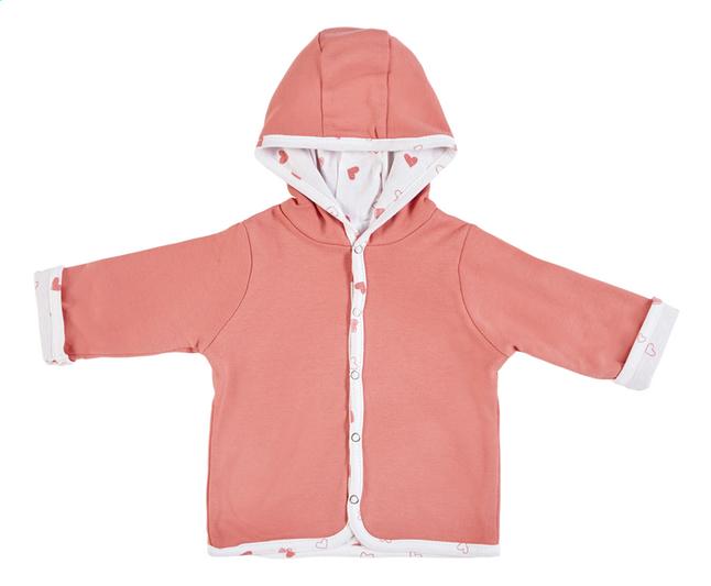 Image pour Dreambee Cardigan Essentials coeur rose taille 74/80 à partir de Dreambaby