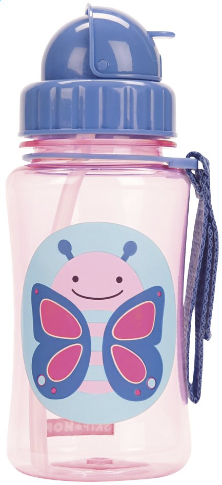 Afbeelding van Skip*Hop Drinkfles Zoo vlinder 350 ml from Dreambaby