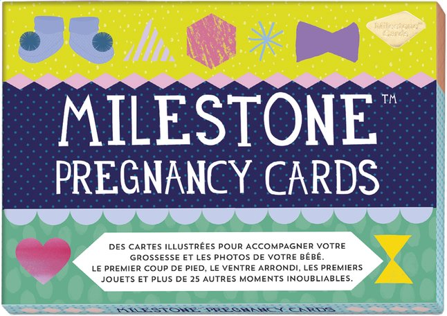 Afbeelding van Milestone Pregnancy Cards FR from Dreambaby