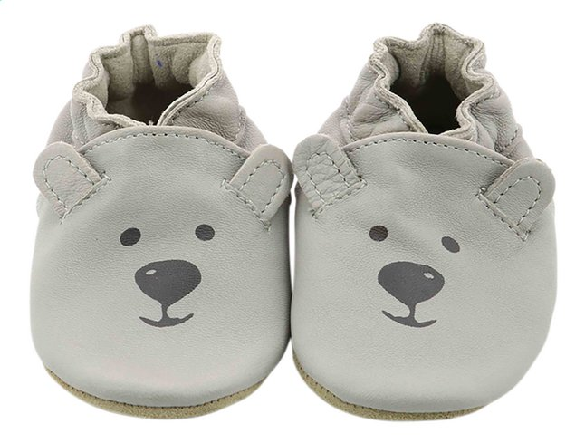 Robeez Chaussons Sweety Bear gris