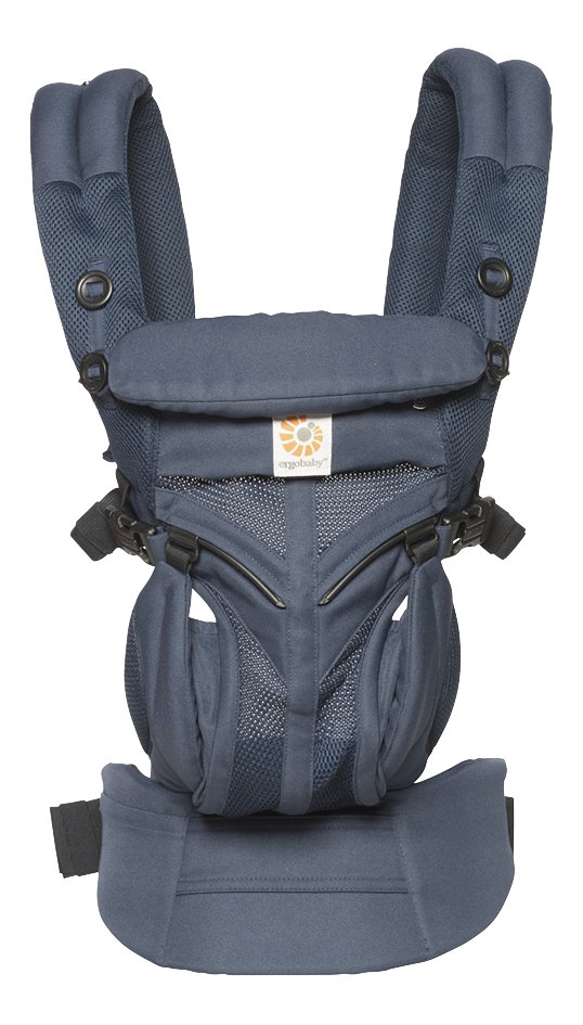 ERGObaby Porte-bébé combiné Omni 360 Cool Air Mesh midnight blue
