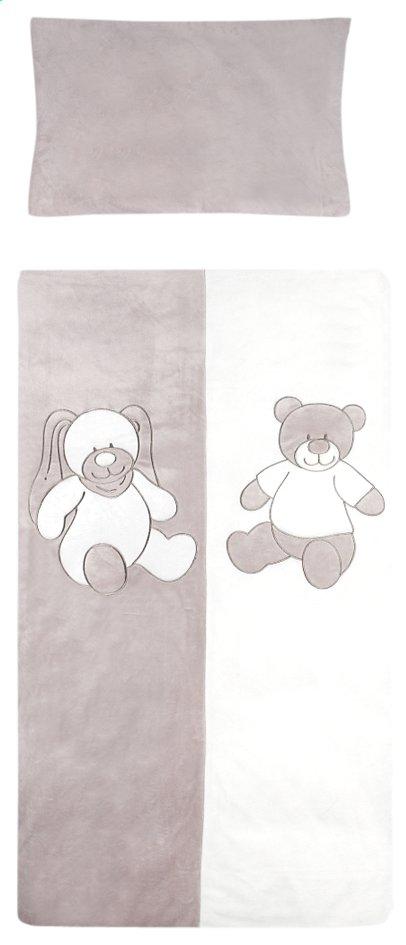 Image pour Vaco Housse de couette pour lit Honey & Bunny polyester Lg 100 x L 140 cm à partir de Dreambaby