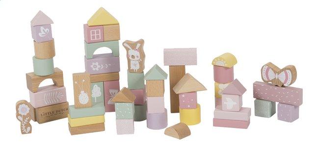 Afbeelding van Little Dutch Blokken Adventure Pink - 50 stuks from Dreambaby