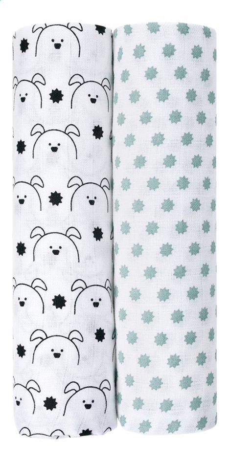 Image pour Lässig Drap tetra Little Chums Dog - 2 pièces à partir de Dreambaby