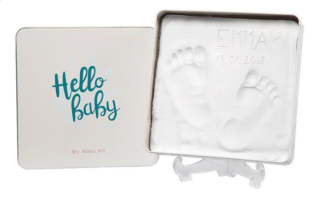 Baby Art Gipsafdruk Magic box Essentials vierkante doos wit