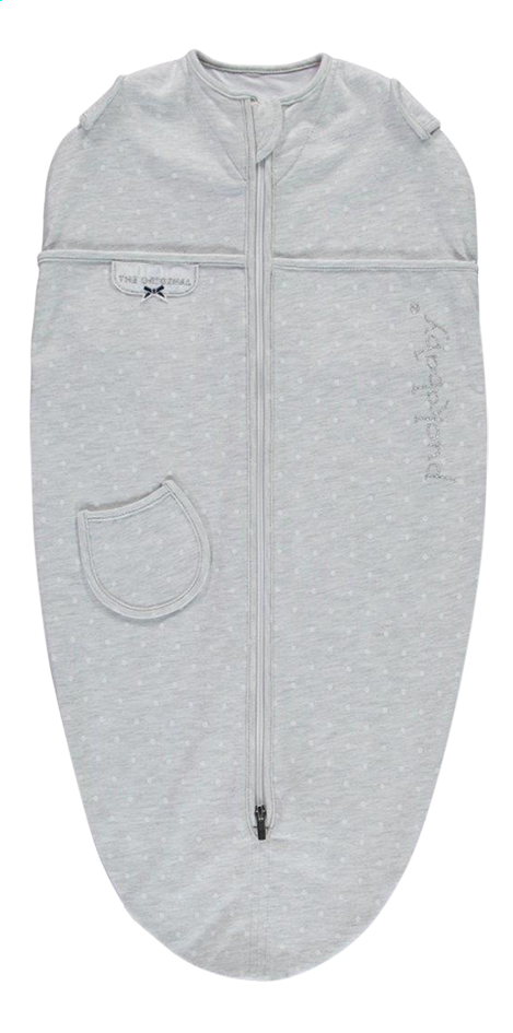 Puckababy Cape d'emmaillotage Original Mini jersey dotty grey