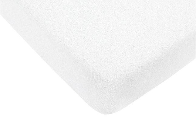 Image pour Hé Baby Drap-housse en éponge blanc à partir de Dreambaby