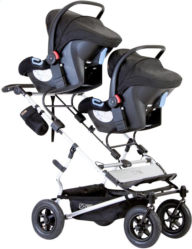 Afbeelding van Mountain Buggy Adapter Duet voor 2 draagbare autostoelen from Dreambaby