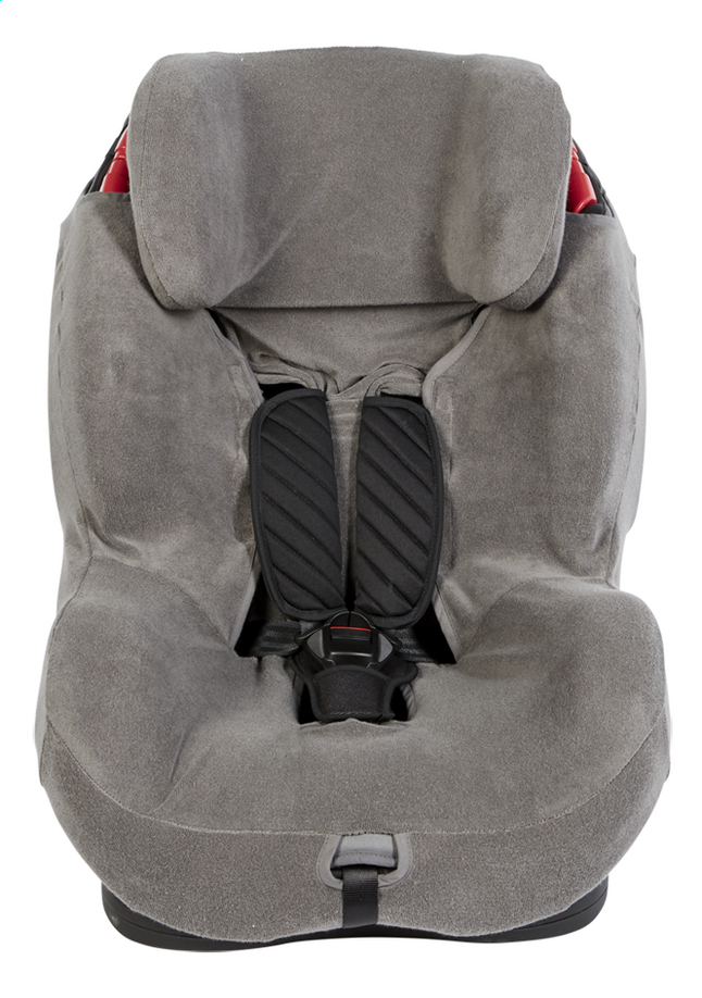 Dreambee Housse d'été Essentials pour siège-auto groupe 1/2/3 gris