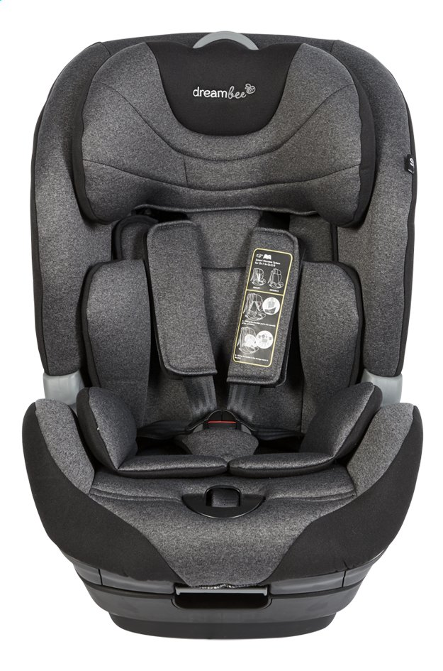 Afbeelding van Dreambee Autostoel Essentials Advance Groep 1/2/3 dark grey from Dreambaby
