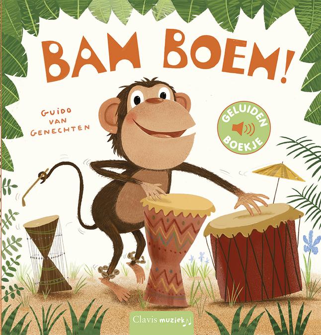 Afbeelding van Bam Boem! geluidenboek from Dreambaby