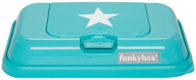 Afbeelding van FunkyBox Doos voor vochtige doekjes Go ster turkoois from Dreambaby