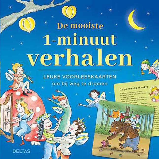 Boek De mooiste 1 minuutverhalen - Leuke voorleeskaarten