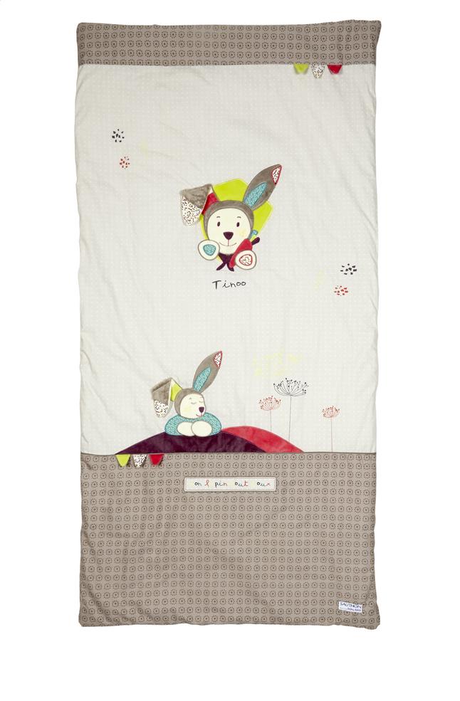 Image pour Sauthon Plaid Tinoo coton à partir de Dreambaby