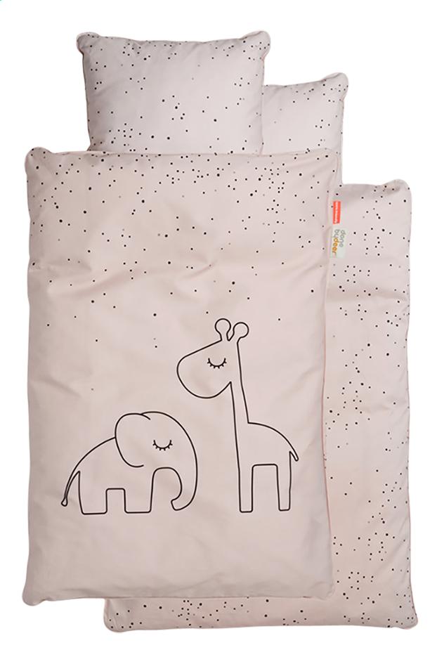 Done by Deer Housse de couette pour lit Dreamy Dots coton Powder