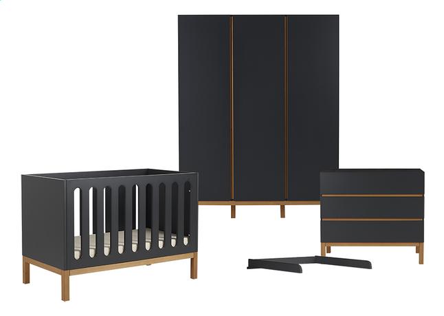 Image pour Quax Chambre de bébé 3 pièces avec armoire 3 portes Indigo moonshadow à partir de Dreambaby